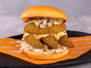 Drivu Veggie Burger