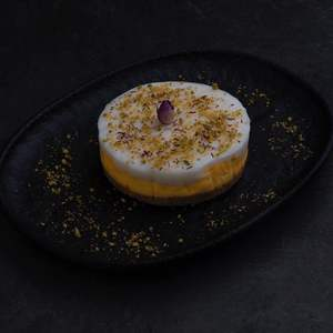 Drivu Saffron with Mohallabia Cake