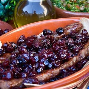 Drivu Kabab with Cherry كباب بالكرز