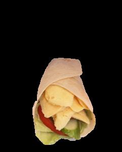 Drivu Omelette in Tortilla Wrap