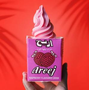 Drivu Areej Raspberry Soft Serve