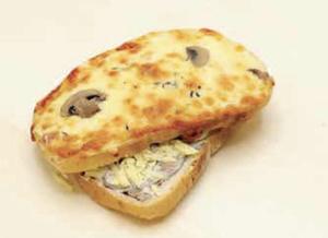 Drivu Mushroom & Cheese Melt Sandwich