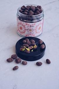 Drivu Eid Desert Rose Collection: Dark Chocolate Pistachio