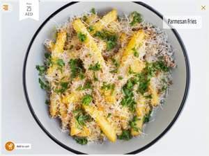 Drivu Parmesan Fries