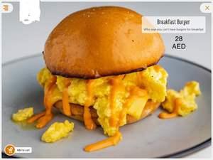 Drivu Breakfast Burger