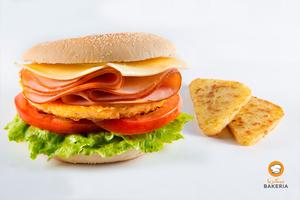 Drivu English Muffin Sandwich
