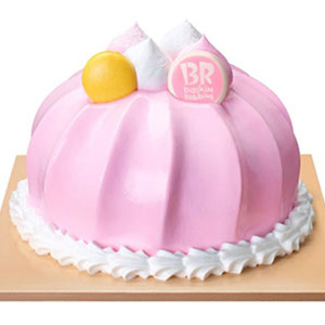 Drivu Pink Delight Dome Cake