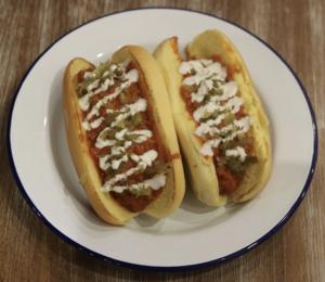 Drivu Hotdog Taco Chili
