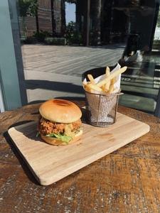 Drivu Chicken Katsu Burger