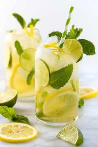 Drivu Lemon with Mint Juice عصير ليمون ونعناع