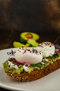Drivu Avocado & Egg (Pouched / Boiled/ Fried)