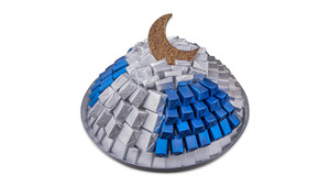 Drivu Lunar Silver Tray Large