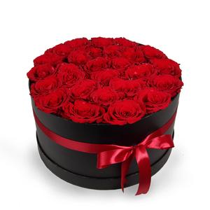 Drivu 30 Red Roses in Luxury Black Box (BO5)