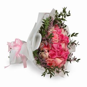Drivu Luxury White Rose - White Bouquet (HB3)
