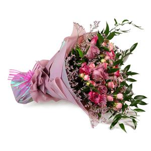 Drivu Luxury Pink Rose Bouquet (HB1)