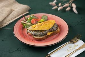 Drivu Truffle Mushroom Omelette