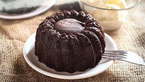 Drivu Molten Chocolate Cake with Ice cream