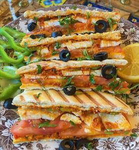 Drivu Sandwich Cheese Krdeyeh صندويش جبنة كردية