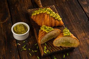 Drivu Pistachio Filled Croissant