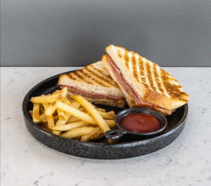Drivu Pastrami Sandwich