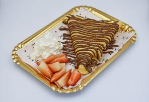 Drivu Crepes Dark Chocolate & Strawberry & whippen cream