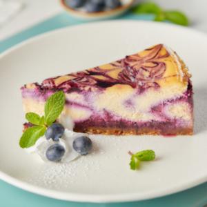 Drivu Blueberry Baked Cheesecake