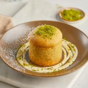 Drivu Pistachio Molten Cake
