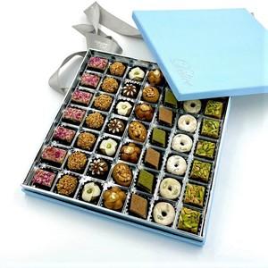 Drivu Almond & Pistachio Sweets Box (49 pieces)