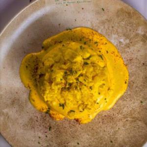 Drivu Bacon Pancake with Scramble Eggs