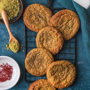Drivu Saffron Pistachio Cookies