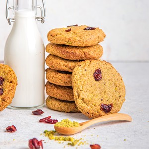 Drivu Cranberry Pistachio Cookies (Vegan)