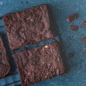 Drivu Fudgy Brownies (Vegan)
