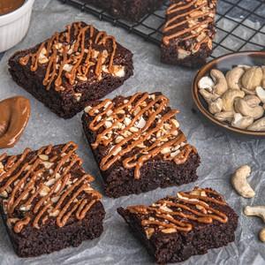 Drivu Dulce de Leche + Cashew Brownies(GF)