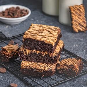 Drivu Peanut Butter Brownies (GF)