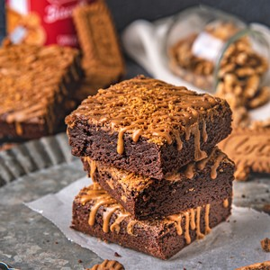 Drivu Lotus Biscoff Brownies