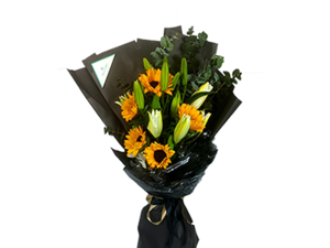 Drivu Sunflowers And Tluip - Luxury Bouquet B18