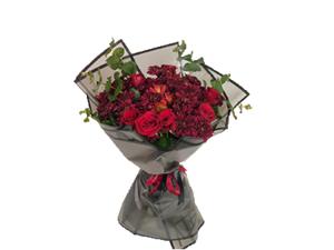 Drivu Luxury Mix Flowers Red bouquet B20