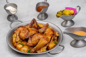 Drivu Half Rotisserie Chicken دجاج الماكينة