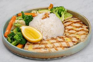 Drivu Healthy Chicken Platter دجاج مشوي صحي