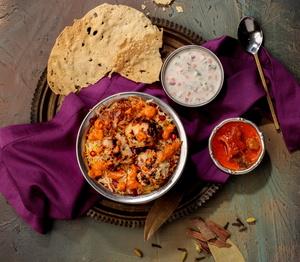 Drivu Chicken Parsi Biryani