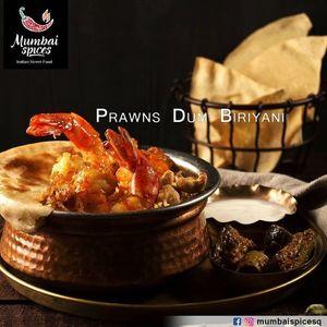 Drivu Prawns Dum Biryani