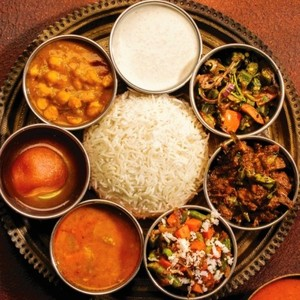 Drivu Thali Vegetarian