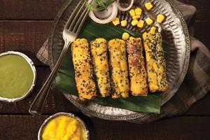 Drivu Shahi Subz Sheekh (vegetables)