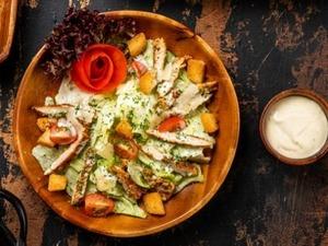 Drivu Chicken Tikka Caesar Salad