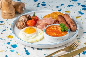 Drivu American Breakfast