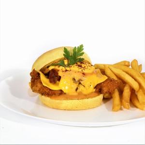 Drivu Swiss Burger