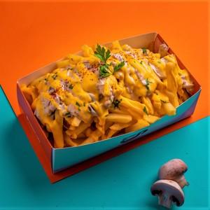Drivu Mushroom Cheese Fries