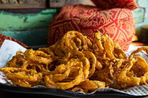 Drivu Babu Onion Bhaji