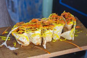 Drivu Kashmiri Chicken Tikka Roll
