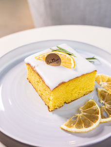 Drivu Lemon Sheet Cake
